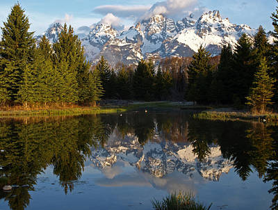 Photograph - Spring And The Tetons by DeeLon Merritt