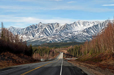 Photograph - Spring Approaches - Alaska Highway by Cathy Mahnke