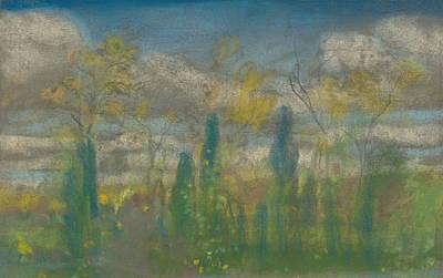 Drawing - Spring by Arthur Bowen Davies