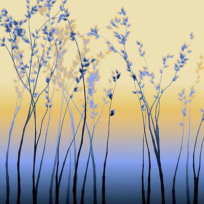 Digital Art - Spring Aspen by Susan Maxwell Schmidt