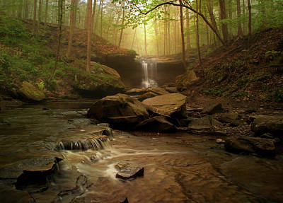 Photograph - Spring At Blue Hen Falls by Rob Blair