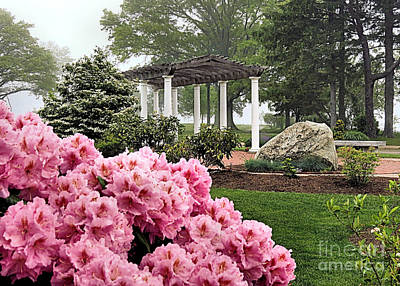 Photograph - Spring At Brewster Gardens by Janice Drew