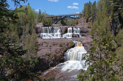 Photograph - Spring At Gooseberry Falls by Susan Rissi Tregoning