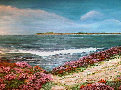 Spring At Half Moon Bay Art Print