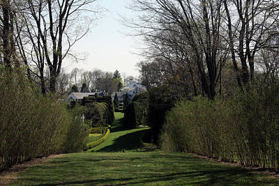 Photograph - Spring At Ladew Topiary Gardens by Vadim Levin
