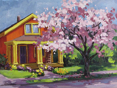 Painting - Spring At Last by Karen Ilari