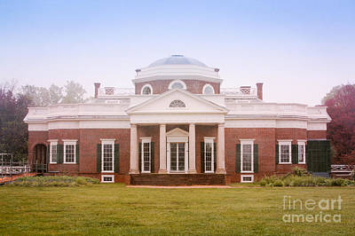 Politicians Royalty-Free and Rights-Managed Images - Spring at Monticello by Heidi Hermes