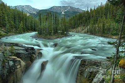 Photograph - Spring At Sunwapta Falls by Adam Jewell