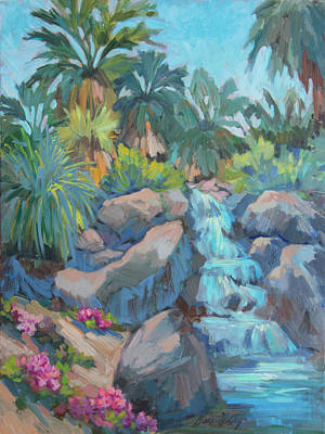 Painting - Spring At The Living Desert by Diane McClary