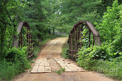Photograph - Spring At The Old Bridge by Kim Henderson