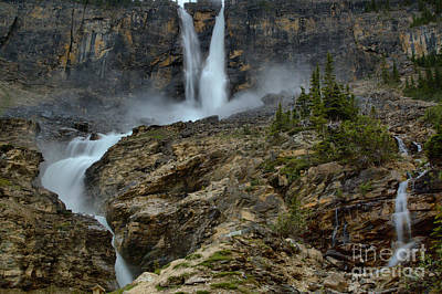 Photograph - Spring At Twin Falls by Adam Jewell