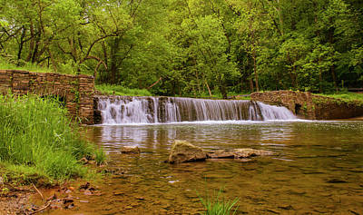 Photograph - Spring At Valley Creek by Rima Biswas