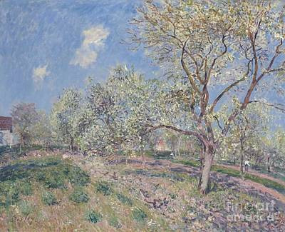 Veneux Painting - Spring At Veneux by MotionAge Designs