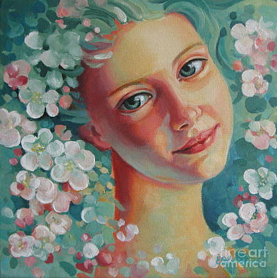Art Print featuring the painting Spring B by Elena Oleniuc