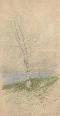 Drawing - Spring Beauties by Arthur Bowen Davies