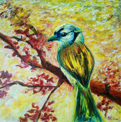 Spring Bird Art Print by Rashmi Rao