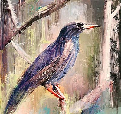 House Pet Digital Art - Spring Bird by Yury Malkov