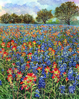 Painting - Spring Bliss by Hailey E Herrera