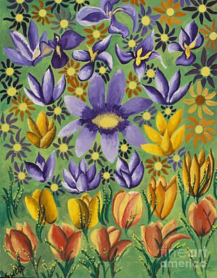 Painting - Spring Bloom by Sweta Prasad