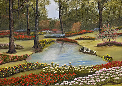 Spring Blooms Art Print by Darren Yarborough