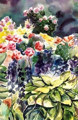 Painting - Spring Blooms by Heather Kertzer