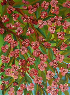 Painting - Spring Blossom by Olga Hamilton