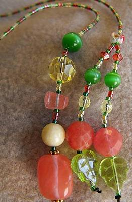 Delica Beads Jewelry - Spring  Blossom by Rhiannon Strickler