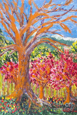 Painting - Spring Blossom by Walt Brodis