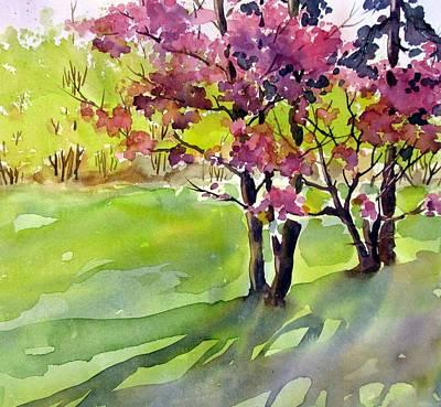 Spring Blossoms Art Print by Chito Gonzaga