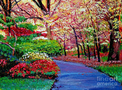 Spring Blossoms Original by David Lloyd Glover