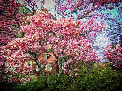 Photograph - Spring Blossoms For Jeff's Mom by Alice Gipson