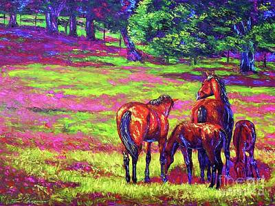 Kentucky Painting - Spring Blossoms by Tom Chapman