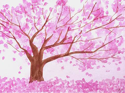 Painting - Spring Blossoms by Wonju Hulse