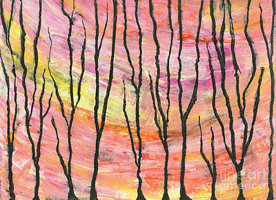Mixed Media - Spring Blows In by Cyndi Lavin