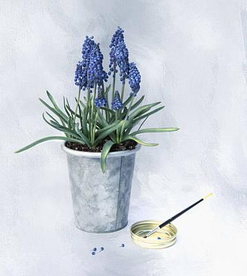 Photograph - Spring Blue by Robin-Lee Vieira