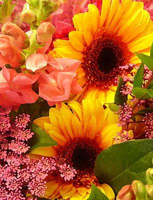 Photograph - Spring Bouquet 1 by Amy Vangsgard