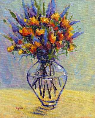 Painting - Spring Bouquet 2 by Konnie Kim