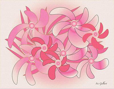 Digital Art - Spring Bouquet by Iris Gelbart