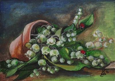 Painting - Spring Bouquet by Kim Selig