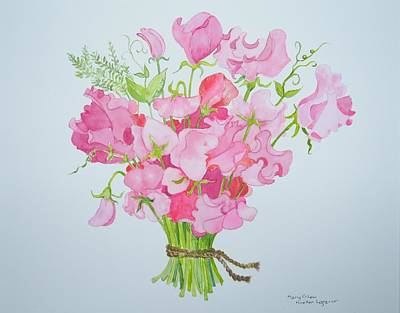 Painting - Spring Bouquet by Mary Ellen Mueller Legault