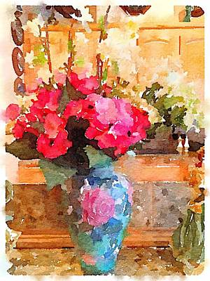 Digital Art - Spring Bouquet by Shannon Grissom