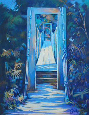 Painting - Spring Bridge I by Glenford John