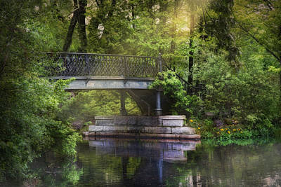 Photograph - Spring Bridge by Robin-Lee Vieira