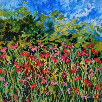 Carolinestreetart Painting - Spring by Caroline Street