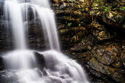 Photograph - Spring Cascade At Moss Rock Preserve by Shelby Young