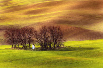 Chapel Photograph - Spring Chapel by Piotr Krol (bax)
