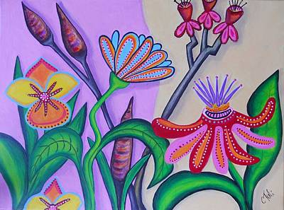 Spring Art Print by Claudia Tuli