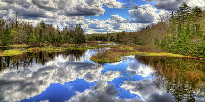 Photograph - Spring Clouds Over The Moose River by David Patterson