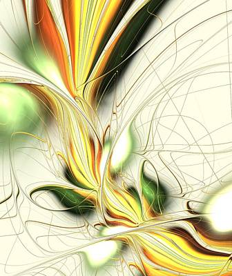 Feeling Digital Art - Spring Colors by Anastasiya Malakhova