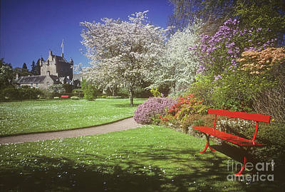 Photograph - Spring Colours - Cawdor Castle - Nairn by Phil Banks